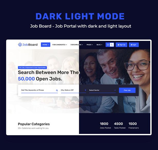 Job Board - Job Portal HTML Template + RTL - 7